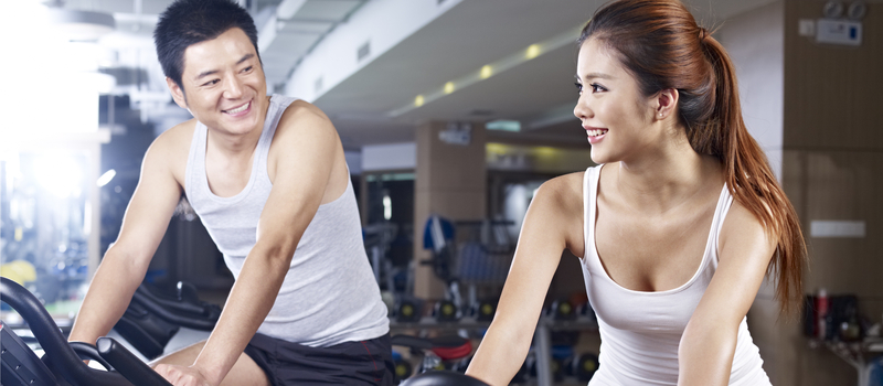 A gym date for Valentine's Day?